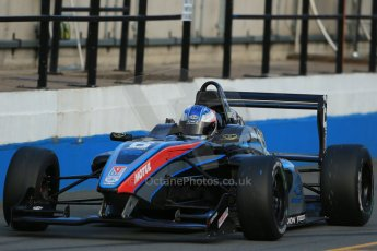 World © Octane Photographic Ltd. BRDC Formula 4 (F4) Race 1, Donington Park 28th September 2013. MSVF4-13, SWR (Sean Walkinshaw Racing), Matthew (Matty) Graham. Digital Ref : 0833lw1d9845