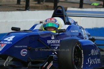 World © Octane Photographic Ltd. BRDC Formula 4 (F4) Race 1, Donington Park 28th September 2013. MSVF4-13, Team KBS, James Fletcher. Digital Ref : 0833lw1d9872