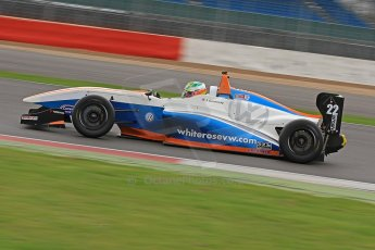 World © Octane Photographic Ltd. BRDC Formula 4 (F4) Championship, Silverstone, April 27th 2013. MSV F4-013, James Greenway. Digital Ref : 0642cb7d9355