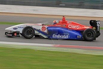 World © Octane Photographic Ltd. BRDC Formula 4 (F4) Championship, Silverstone, April 27th 2013. MSV F4-013, Mark Goodwin Racing, Pietro Fittipaldi. Digital Ref : 0642cb7d9385