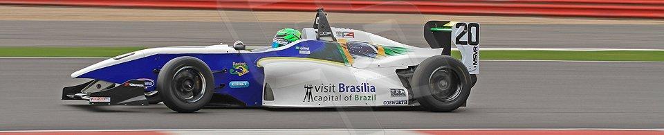 World © Octane Photographic Ltd. BRDC Formula 4 (F4) Championship, Silverstone, April 27th 2013. MSV F4-013, HHC Motorsport, Gustavo Lima. Digital Ref : 0642cb7d9407