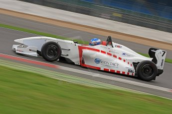 World © Octane Photographic Ltd. BRDC Formula 4 (F4) Championship, Silverstone, April 27th 2013. MSV F4-013, Lanan Racing, Jake Hughes. Digital Ref : 0642cb7d9431