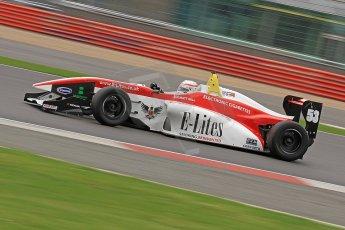 World © Octane Photographic Ltd. BRDC Formula 4 (F4) Championship, Silverstone, April 27th 2013. MSV F4-013, MattRBell Racing Team E-Lites, Matthew ( Matt ) Bell. Digital Ref : 0642cb7d9436