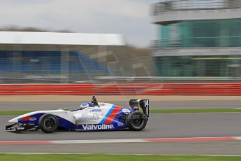 World © Octane Photographic Ltd. BRDC Formula 4 (F4) Championship, Silverstone, April 27th 2013. MSV F4-013, Mark Goodwin Racing, Jake Dalton. Digital Ref : 0642cb7d9445