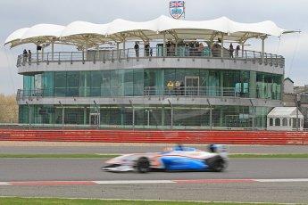 World © Octane Photographic Ltd. BRDC Formula 4 (F4) Championship, Silverstone, April 27th 2013. MSV F4-013, HHC Motorsport, Charlie Robertson. Digital Ref : 0642cb7d9454