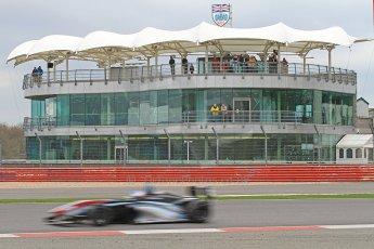 World © Octane Photographic Ltd. BRDC Formula 4 (F4) Championship, Silverstone, April 27th 2013. MSV F4-013, Sean Walkinshaw Racing, Matthew (Matty) Graham. Digital Ref : 0642cb7d9462