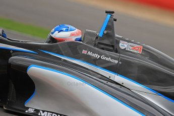 World © Octane Photographic Ltd. BRDC Formula 4 (F4) Championship, Silverstone, April 27th 2013. MSV F4-013, Sean Walkinshaw Racing, Matthew (Matty) Graham. Digital Ref : 0642cb7d9505