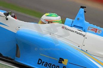 World © Octane Photographic Ltd. BRDC Formula 4 (F4) Championship, Silverstone, April 27th 2013. MSV F4-013, Douglas Motorsport, Sennan Fielding. Digital Ref : 0642cb7d9541