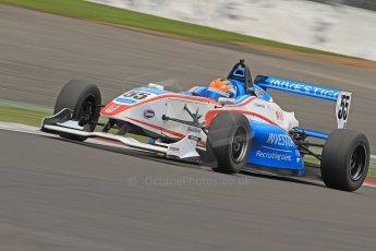 World © Octane Photographic Ltd. BRDC Formula 4 (F4) Championship, Silverstone, April 27th 2013. MSV F4-013, HHC Motorsport, Charlie Robertson. Digital Ref 0642cb7d9577