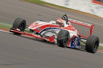 World © Octane Photographic Ltd. BRDC Formula 4 (F4) Championship, Silverstone, April 27th 2013. MSV F4-013, HHC Motorsport, Raoul Hyman. Digital Ref : 0642cb7d9580