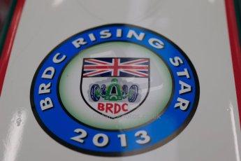 World © Octane Photographic Ltd. F3 Cup, Silverstone, April 27th 2013. F3 Cup - Alice Powell - BRDC Rising Star. Digital Ref : 0642lw1d6203