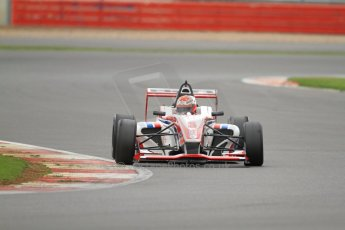 World © Octane Photographic Ltd. BRDC Formula 4 (F4) Championship, Silverstone, April 27th 2013. MSV F4-013, HHC Motorsport, Raoul Hyman. Digital Ref : 0642lw7d6936