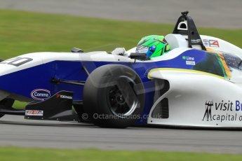 World © Octane Photographic Ltd. BRDC Formula 4 (F4) Championship, Silverstone, April 27th 2013. MSV F4-013, HHC Motorsport, Gustavo Lima. Digital Ref : 0642lw7d7026