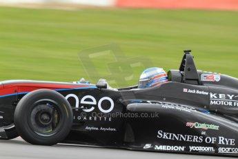 World © Octane Photographic Ltd. BRDC Formula 4 (F4) Championship, Silverstone, April 27th 2013. MSV F4-013, Sean Walkinshaw Racing, Jack Barlow. Digital Ref : 0642lw7d7042