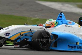 World © Octane Photographic Ltd. BRDC Formula 4 (F4) Championship, Silverstone, April 27th 2013. MSV F4-013, Douglas Motorsport, Sennan Fielding. Digital Ref : 0642lw7d7063