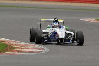 World © Octane Photographic Ltd. BRDC Formula 4 (F4) Championship, Silverstone, April 27th 2013. MSV F4-013, Mark Goodwin Racing, Jake Dalton. Digital Ref : 0642lw7d7080