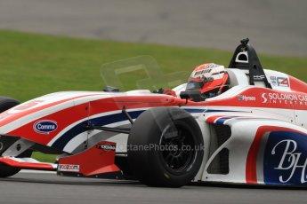 World © Octane Photographic Ltd. BRDC Formula 4 (F4) Championship, Silverstone, April 27th 2013. MSV F4-013, HHC Motorsport, Raoul Hyman. Digital Ref : 0642lw7d7116