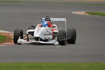 World © Octane Photographic Ltd. BRDC Formula 4 (F4) Championship, Silverstone, April 27th 2013. MSV F4-013, Lanan Racing, Jake Hughes. Digital Ref : 0642lw7d7150