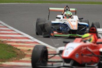 World © Octane Photographic Ltd. BRDC Formula 4 (F4) Championship, Silverstone, April 27th 2013. MSV F4-013, Hillspeed, Struan Moore and James Greenway. Digital Ref : 0642cb7d9541