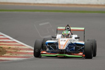 World © Octane Photographic Ltd. BRDC Formula 4 (F4) Championship, Silverstone, April 27th 2013. MSV F4-013, James Greenway. Digital Ref : 0642lw7d7243