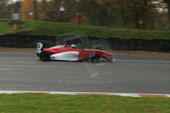 World © Octane Photographic Ltd. Brands Hatch, Qualifying, Sunday 24th November 2013. BRDC Formula 4 Winter Series, MSV F4-13,  –Dimitris Papanastasiou - Hillspeed. Digital Ref : 0866lw1d7151