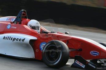 World © Octane Photographic Ltd. Brands Hatch, Qualifying, Sunday 24th November 2013. BRDC Formula 4 Winter Series, MSV F4-13, Jack Cook – Hillspeed. Digital Ref : 0866lw1d7202