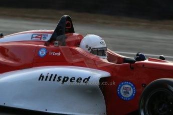 World © Octane Photographic Ltd. Brands Hatch, Qualifying, Sunday 24th November 2013. BRDC Formula 4 Winter Series, MSV F4-13, Jack Cook – Hillspeed. Digital Ref : 0866lw1d7208