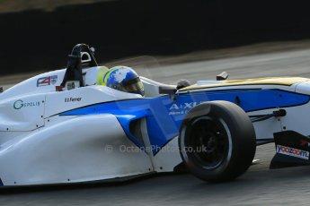 World © Octane Photographic Ltd. Brands Hatch, Qualifying, Sunday 24th November 2013. BRDC Formula 4 Winter Series, MSV F4-13, Sennan Fielding – HHC Motorsport. Digital Ref : 0866lw1d7234
