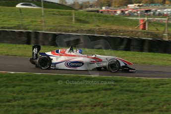 World © Octane Photographic Ltd. Brands Hatch, Qualifying, Sunday 24th November 2013. BRDC Formula 4 Winter Series, MSV F4-13, Will Palmer – HHC Motorsport. Digital Ref : 0866lw1d7358