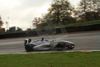 World © Octane Photographic Ltd. Brands Hatch, Qualifying, Sunday 24th November 2013. BRDC Formula 4 Winter Series, MSV F4-13,  – Kieran Vernon - Hillspeed. Digital Ref : 0866lw7d4359
