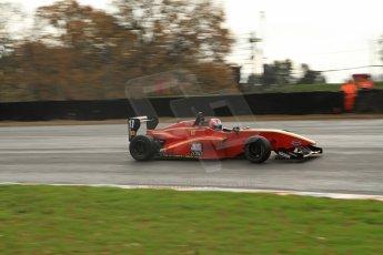 World © Octane Photographic Ltd. Brands Hatch, Qualifying, Sunday 24th November 2013. BRDC Formula 4 Winter Series, MSV F4-13, Frederick Johansen – Chris Dittmann Racing (CDR). Digital Ref : 0866lw7d4370