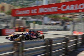 World © 2013 Octane Photographic Ltd. F1 Monaco GP, Monte Carlo -Thursday 23rd May 2013 - Practice 2. Scuderia Toro Rosso STR8 - Jean-Eric Vergne. Digital Ref : 0694lw1d8031