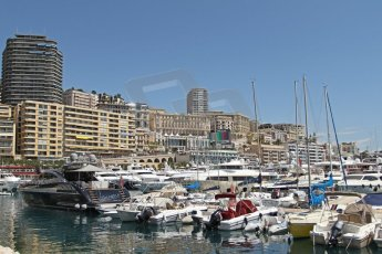 World © Octane Photographic Ltd. Monaco Formula One, Wednesday 22nd May 2013, Monte Carlo. The harbour from the Louis Chiron/Swimming Pool corner. Digital Ref : 0691cb7d0507