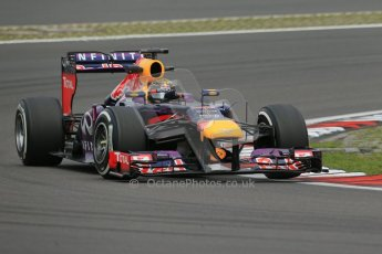 World © Octane Photographic Ltd. F1 German GP - Nurburgring. Friday 5th July 2013 - Practice One. Infiniti Red Bull Racing RB9 - Sebastian Vettel. Digital Ref : 0739lw1d3834