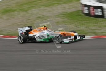 World © Octane Photographic Ltd. F1 German GP - Nurburgring. Friday 5th July 2013 - Practice One. Sahara Force India VJM06 - Adrian Sutil. Digital Ref : 0739lw1d43041