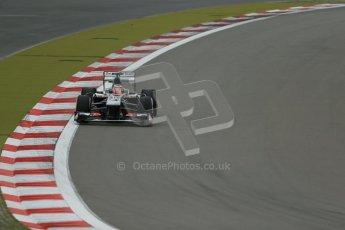 World © Octane Photographic Ltd. F1 German GP - Nurburgring. Friday 5th July 2013 - Practice Two. Sauber C32 - Nico Hulkenberg. Digital Ref : 0741lw1d4250