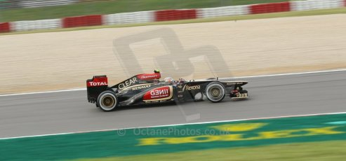 World © Octane Photographic Ltd. F1 German GP - Nurburgring. Saturday 6th July 2013 - Practice three. Lotus F1 Team E21 - Romain Grosjean. Digital Ref : 0744lw1d4142