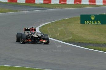 World © Octane Photographic Ltd. F1 German GP - Nurburgring. Saturday 6th July 2013 - Practice three. Lotus F1 Team E21 - Kimi Raikkonen. Digital Ref : 0744lw1d6134