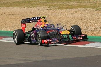 World © Octane Photographic Ltd. F1 German GP - Nurburgring. Saturday 6th July 2013 - Practice three. Infiniti Red Bull Racing RB9 - Mark Webber. Digital Ref : 0744lw1d6334