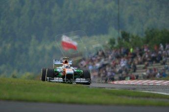 World © Octane Photographic Ltd. F1 German GP - Nurburgring. Saturday 6th July 2013 - Practice three. Sahara Force India VJM06 - Adrian Sutil. Digital Ref : 0744lw1d6687
