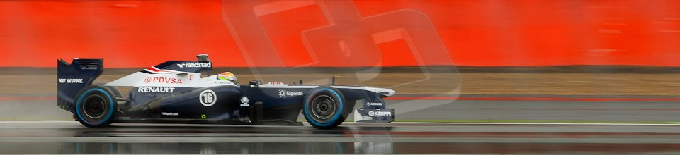 World © Octane Photographic Ltd. F1 British GP - Silverstone, Friday 28th June 2013 - Practice 1. Williams FW35 - Pastor Maldonado. Digital Ref : 0724ce1d6419