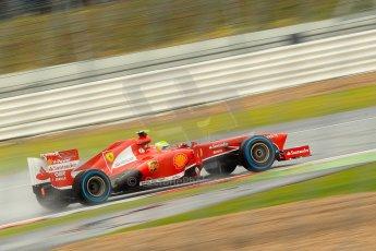 World © Octane Photographic Ltd. F1 British GP - Silverstone, Friday 28th June 2013 - Practice 1. Scuderia Ferrari F138 - Felipe Massa. Digital Ref : 0724ce1d6473