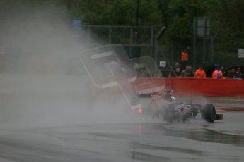 World © Octane Photographic Ltd. F1 British GP - Silverstone, Friday 28th June 2013 - Practice 1. Scuderia Toro Rosso STR 8 - Daniel Ricciardo. Digital Ref : 0724lw1d0588