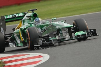World © Octane Photographic Ltd. F1 British GP - Silverstone, Saturday 29th June 2013 - Practice 3. Caterham F1 Team CT03 - Charles Pic. Digital Ref : 0729lw1d0619