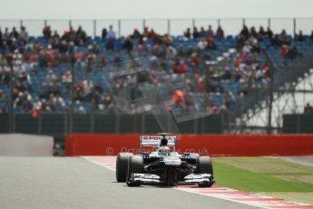 World © Octane Photographic Ltd. F1 British GP - Silverstone, Saturday 29th June 2013 - Qualifying. Williams FW35 - Valtteri Bottas. Digital Ref : 0730lw1d1096
