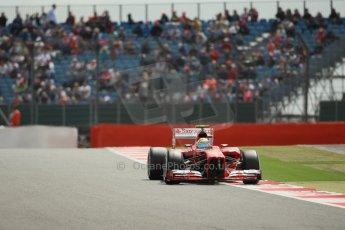 World © Octane Photographic Ltd. F1 British GP - Silverstone, Saturday 29th June 2013 - Qualifying. Scuderia Ferrari F138 - Felipe Massa. Digital Ref : 0730lw1d1227