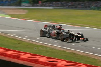 World © Octane Photographic Ltd. F1 British GP - Silverstone, Saturday 29th June 2013 - Qualifying. Lotus F1 Team E21 - Kimi Raikkonen. Digital Ref : 0730lw1d1772