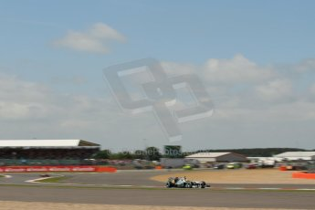 World © Octane Photographic Ltd. F1 British GP - Silverstone, Sunday 30th June 2013 - Race. Mercedes AMG Petronas F1 W04 – Lewis Hamilton. Digital Ref : 0734lw1d2254
