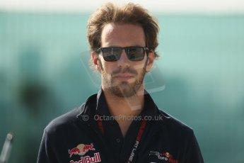 World © Octane Photographic Ltd. F1 British GP - Silverstone, Sunday 30th June 2013 – F1 Paddock. Jean-Eric Vergne - Toro Rosso. Digital Ref : 0733lw1d1620