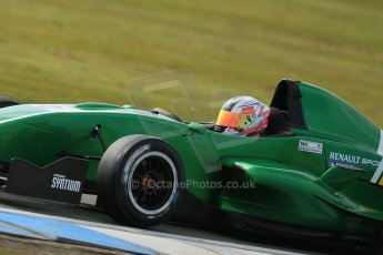 World © Octane Photographic Ltd. 2013 Protyre Formula Renault Championship – Donington Park, Sunday 14th April 2013, Qualifying. Weiron Tan - Fortec Motorsports, Caterham Academy. Digital ref : 0633lw1d2756